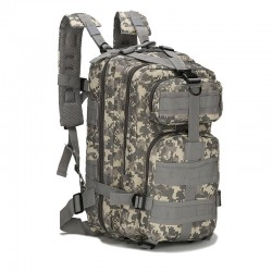 Zaino Militare Digital Camo Grey