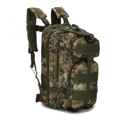 Zaino Militare Digital Camo Green