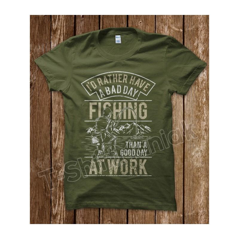Fishing At Work