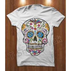 Mexican Skull Cross
