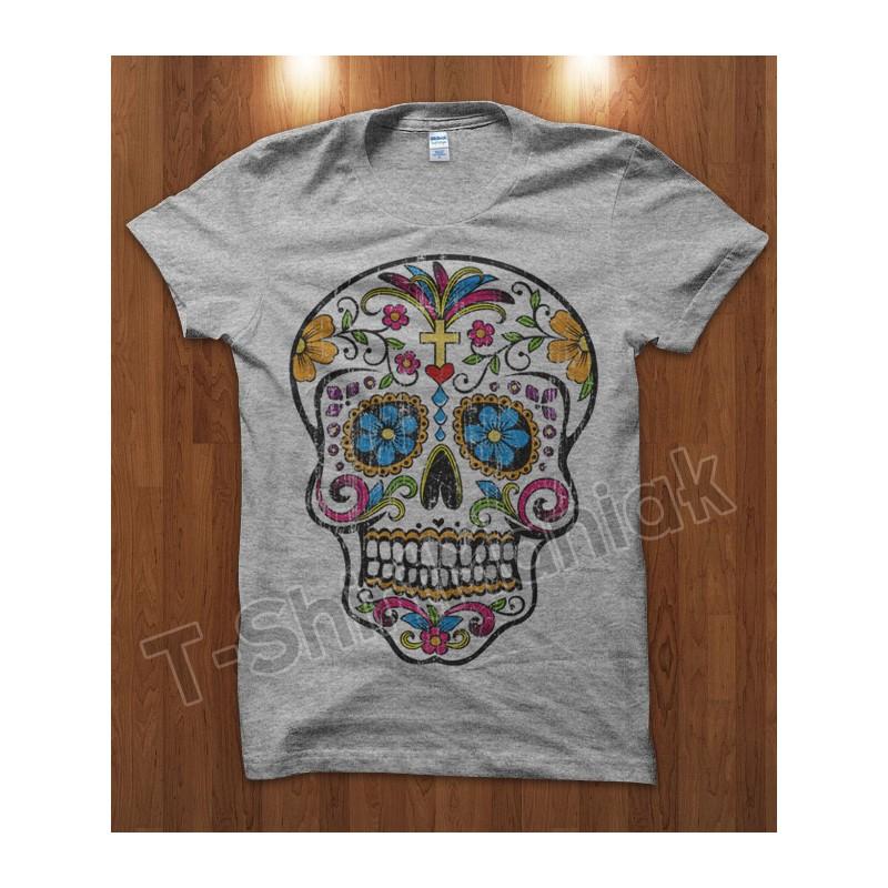 Mexican Skull Cross