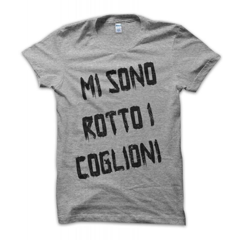 vendita calda genuina miglior fornitore la più grande selezione T-shirt Mi Sono Rotto i Coglioni