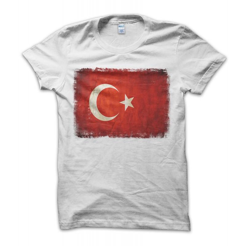 Turkish Vintage Flag