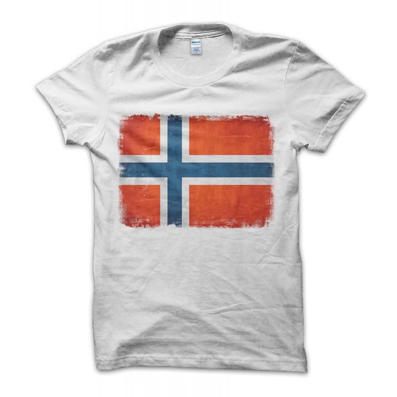 Norway Vintage Flag