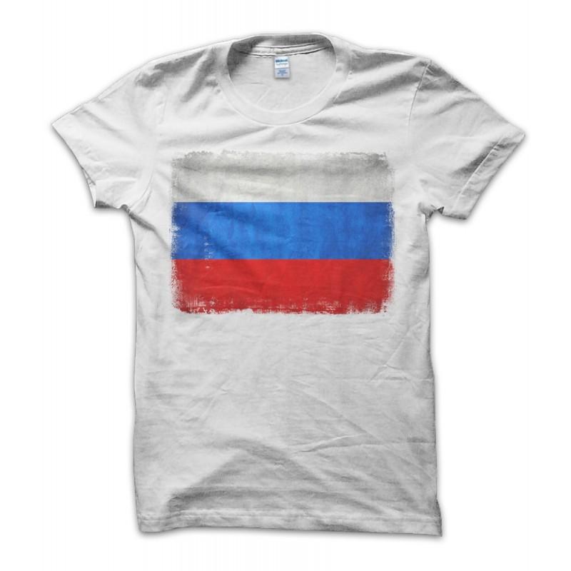 Russia Vintage Flag