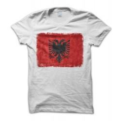 Albania Vintage Flag