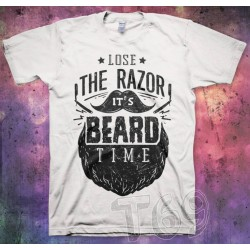 Lose Razor... Beard Time