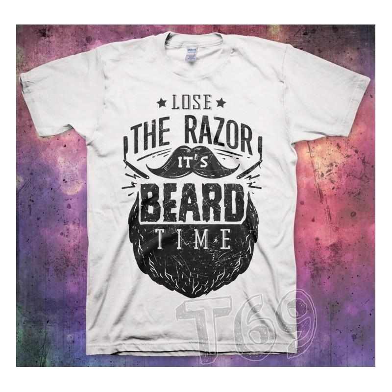 Lose Razor... Beard Time