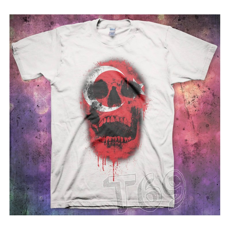 Skull Paint Turkish