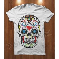Mexican Skull Heart