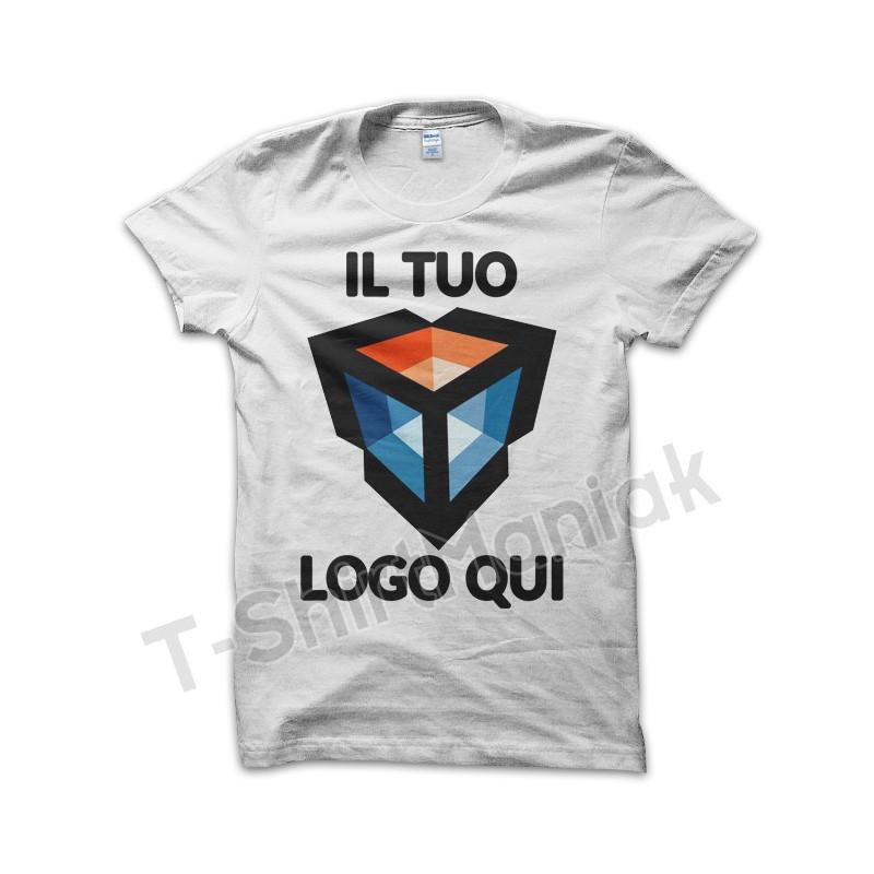 vendite calde 82e4d f3ba5 10x T-shirt Personalizzate Bianche