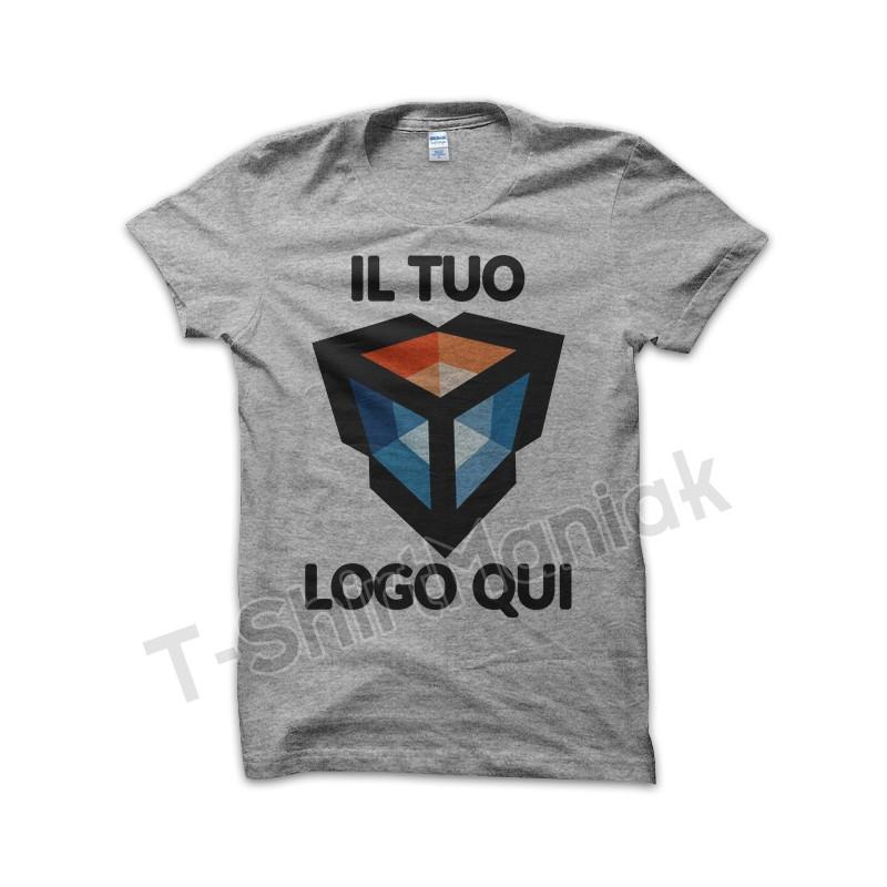 T-shirt Personalizzate Grigie