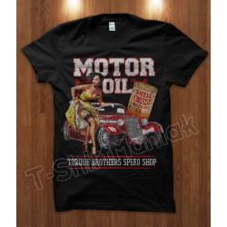 T-shirt Motor Oli Shop