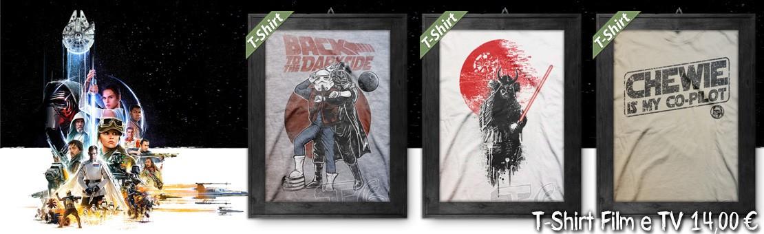 T-Shirt Film & TV - Magliette ispirate a Star Wars