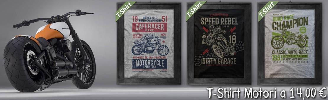 Magliette Motori Stile Harley Devidson Indian Cafè Race