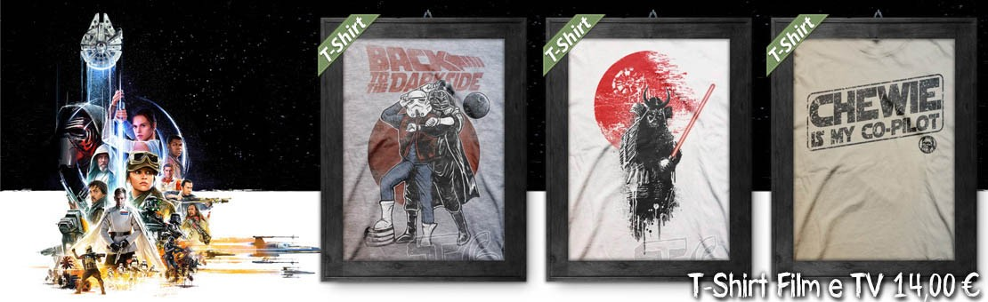 T-Shirt Film & TV - Magliette ispirate a Star Wars