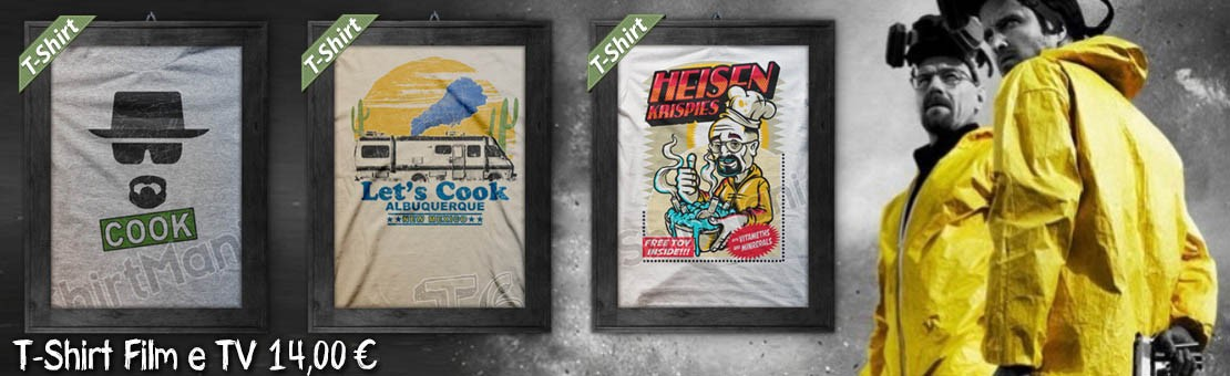 T-Shirt Film & TV - Magliette ispirate a Breaking Bad