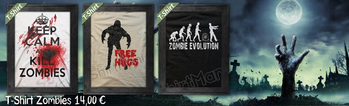 T-Shirt e Magliette Zombies